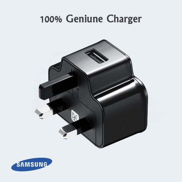 Buy 100% Genuine Samsung Charger Black Image