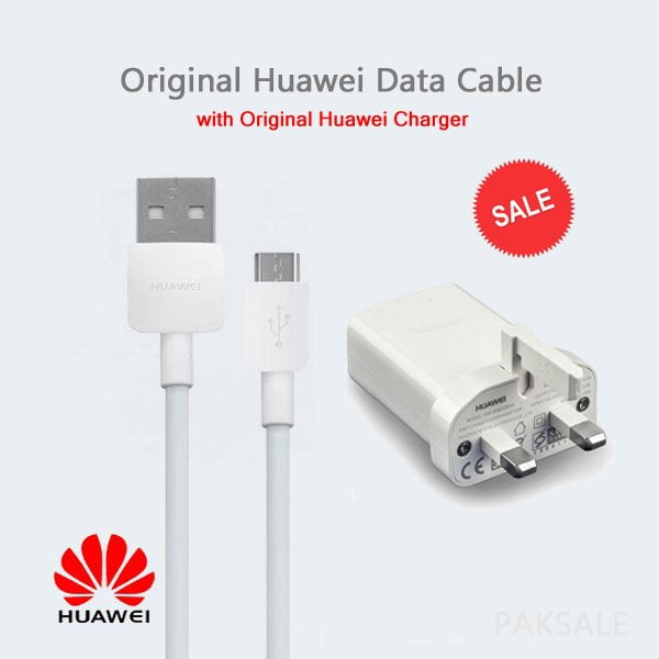 Huawei Original Data Cable with Charger Image