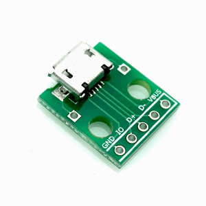 Micro USB to DIP adapter