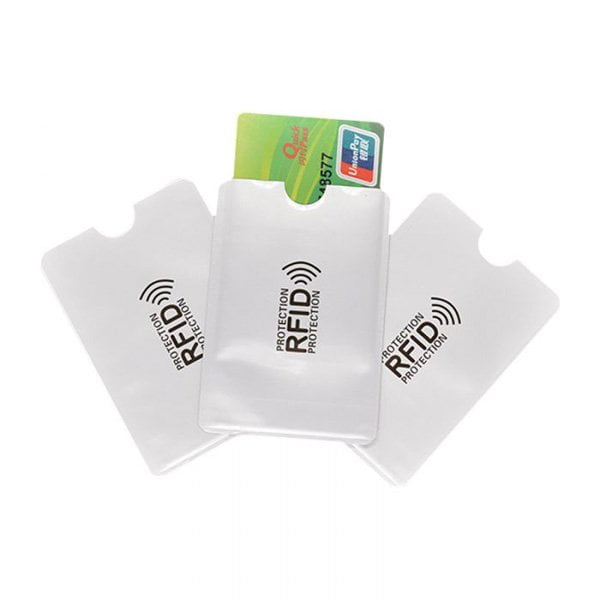 RFID Shielded Sleeve Card Blocking