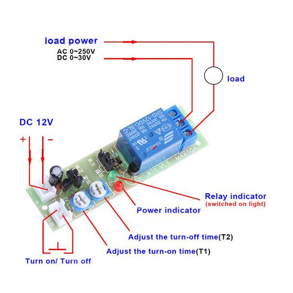 infinite cycle relay switch module