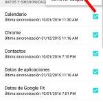 Error de servidor Google Play: Sincronice la cuenta