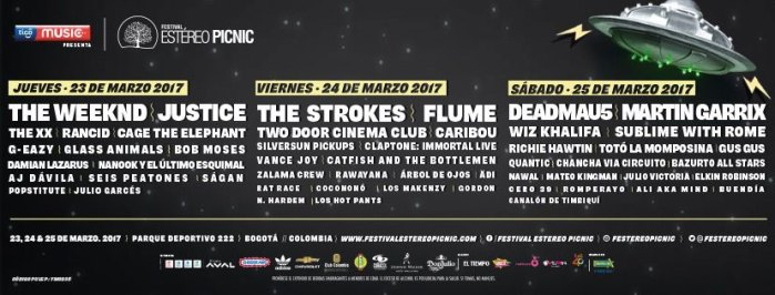 Qué tal es la aplicación del Festival Estéreo Picnic #FEP2017?