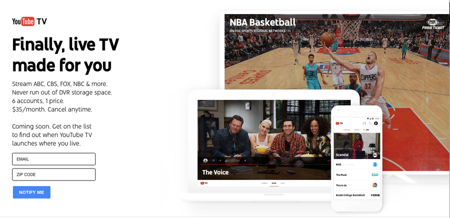 #YouTubeTV: será la opción para cortar el cable (por fin)?   TECHcetera