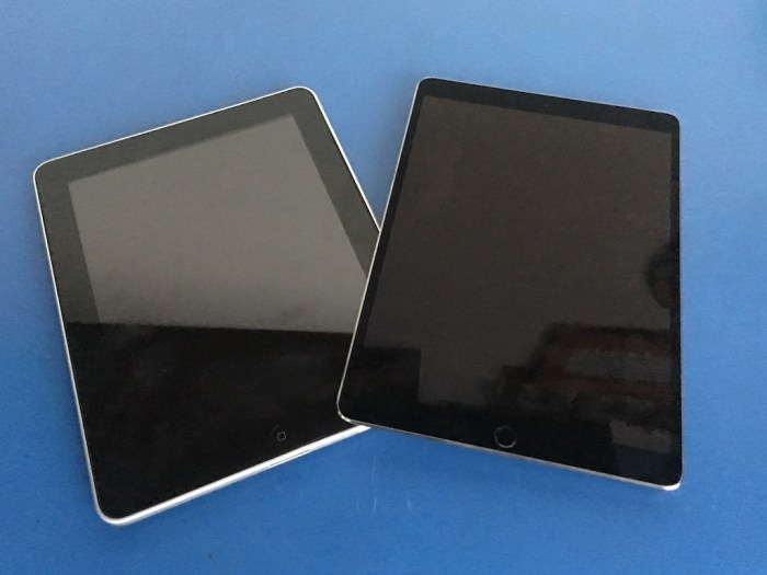 iPad 1 vs iPad Pro 10.5 – qué ha cambiado?