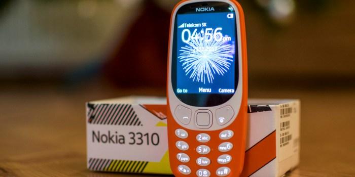 El mejor teléfono del 2017 … el Nokia 3310 y sí leyó bien, tranquilo