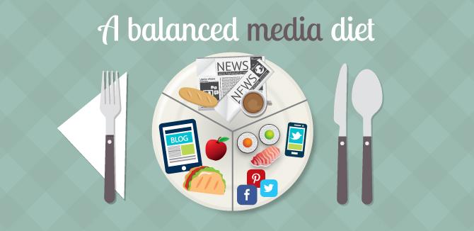 Tiene usted una Dieta Balanceada de contenidos digitales?