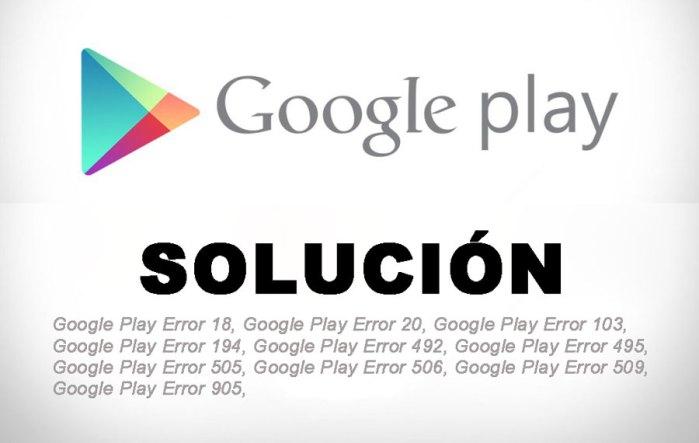 ¿Cómo solucionar la mayoría de los errores de Google Play?