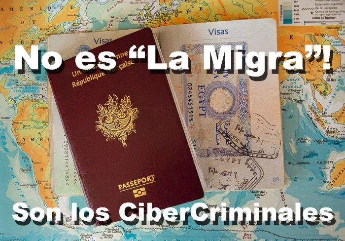 Cuidado con esos falsos correos supuestamente enviados por la Migra!
