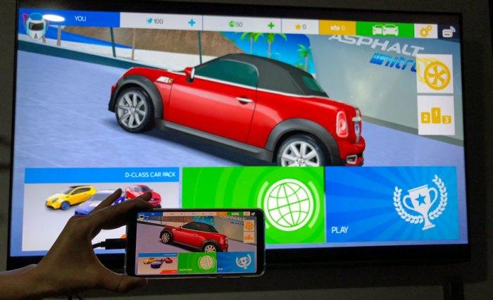 Lleve sus contenidos y juegos a una gran pantalla con el P20 Pro!