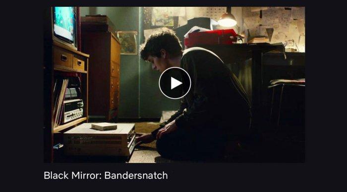 Bandersnatch: las películas están por cambiar para siempre!
