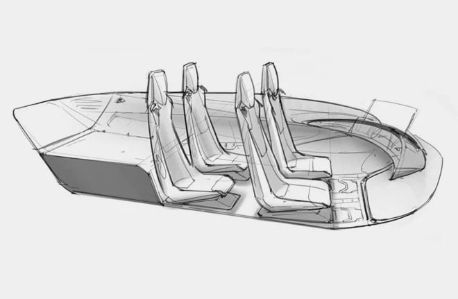 Bell Nexus: el concepto del taxi volador del futuro!