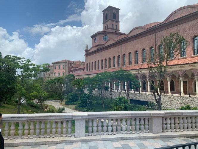 Campus empresarial de la empresa Huawei