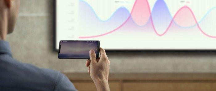 App de productividad en P30 Pro