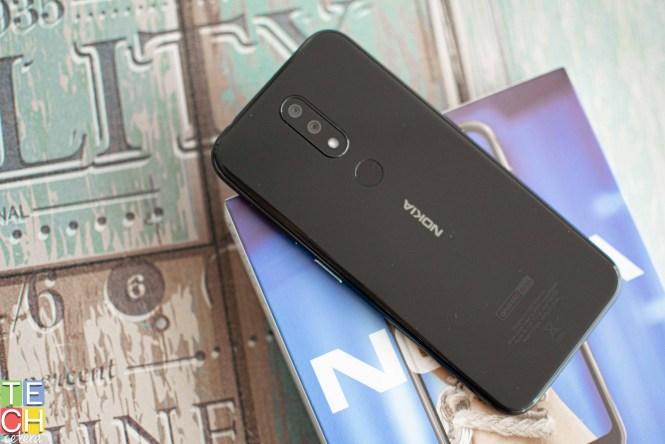 Vista trasera del Nokia 4.2