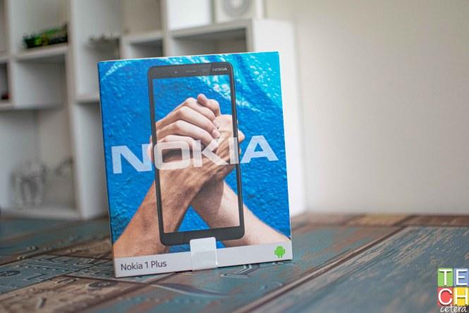 Empaque del Nokia 1 Plus