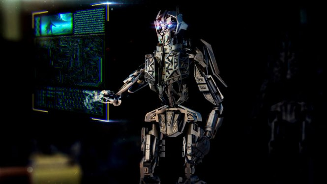 Bot empleando inteligencia artificial