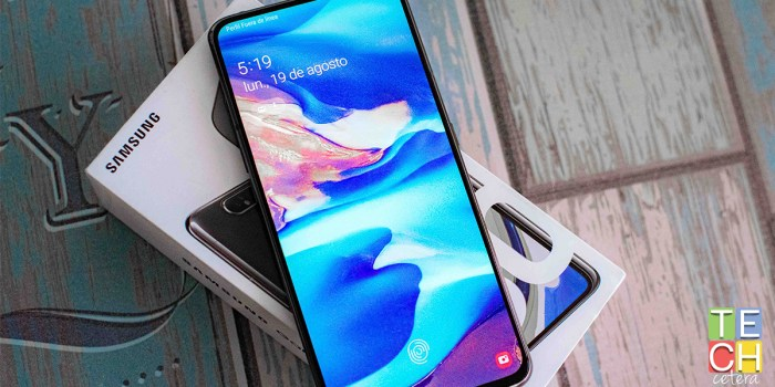 El que le da la vuelta a la categoría. El Samsung Galaxy A80