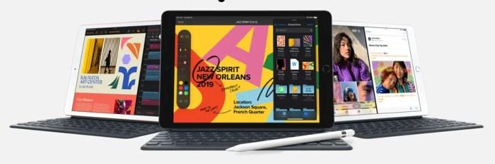 La renovación del iPad de entrada de gran formato!