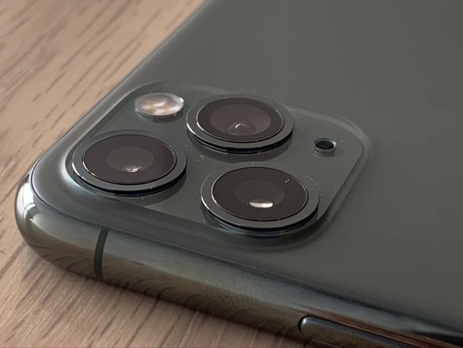 Arreglo de cámara triple del iPhone 11