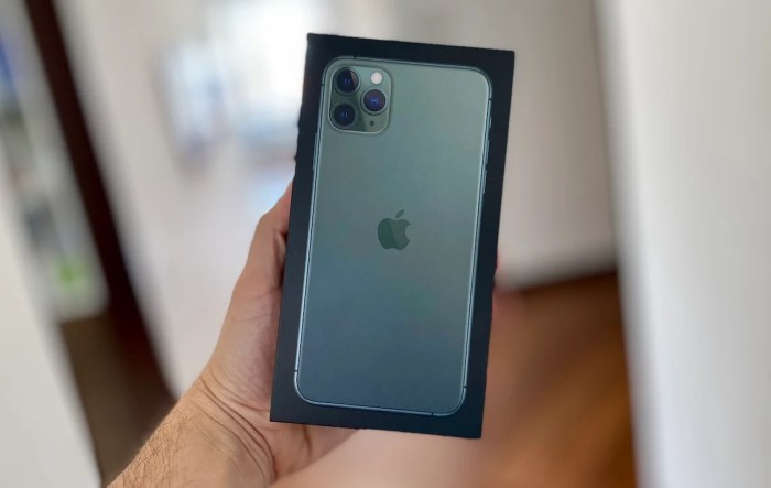 Unboxing: iPhone 11 Pro Max
