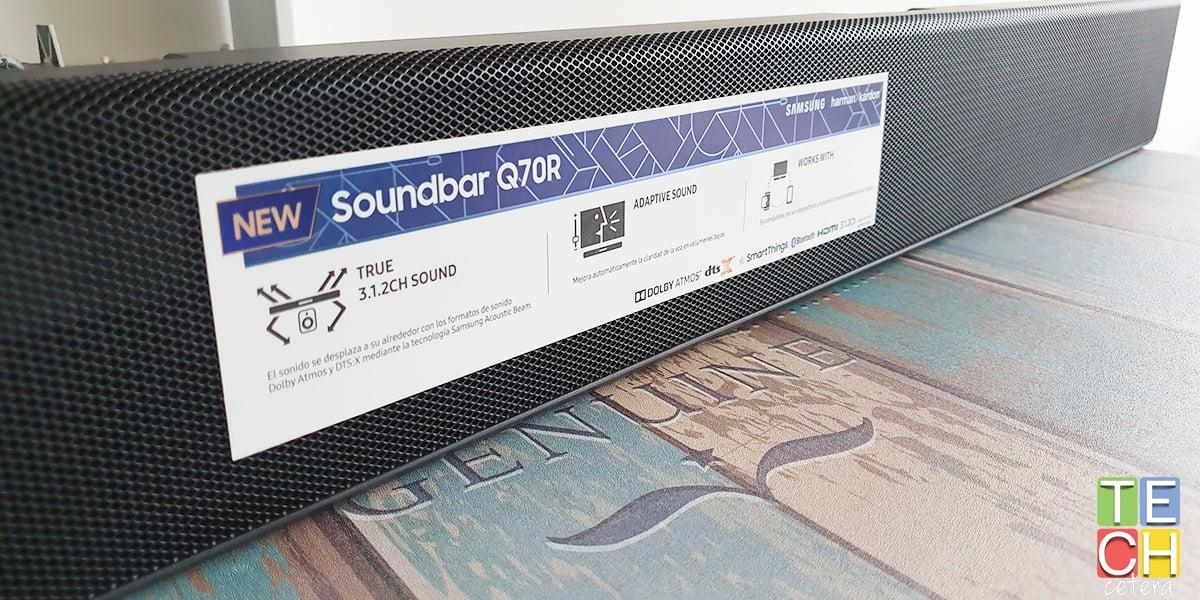 La Barra Samsung Q70R: sencillamente Impresionante