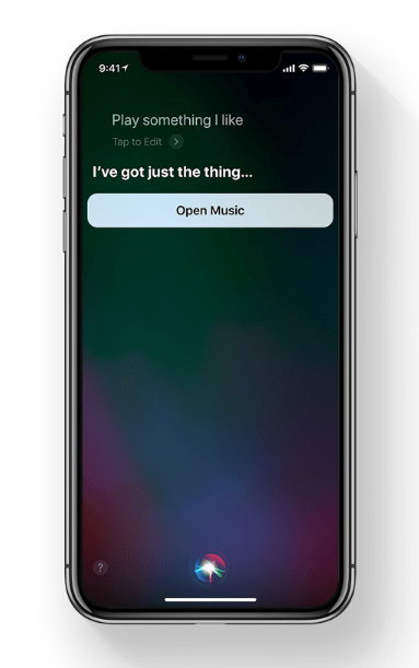 iOS 11 Siri outlook
