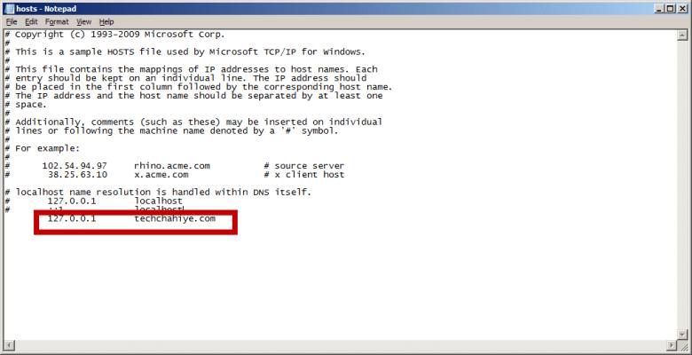 How to Block any website windows Snap 4