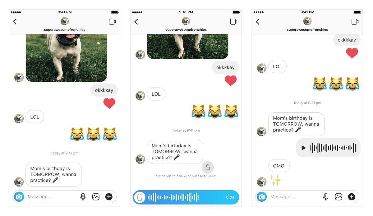 How to Send Voice Messages in Instagram Direct