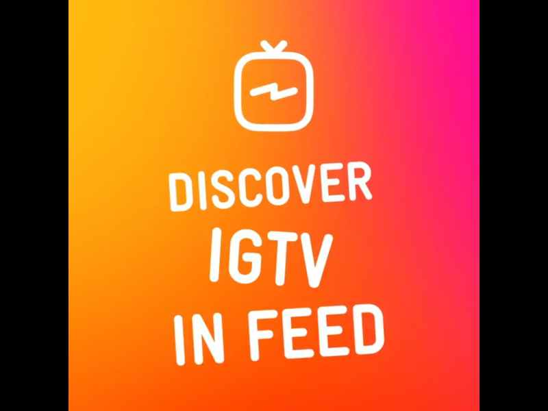 Instagram Feed Now Contains IGTV Previews