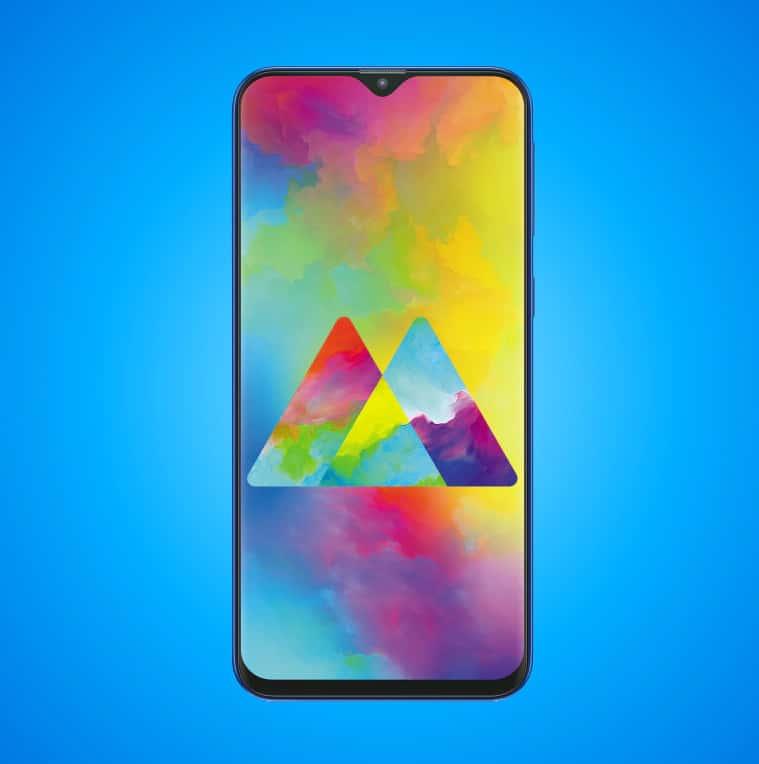 Samsung Galaxy M-Series Smart Phone Front Look