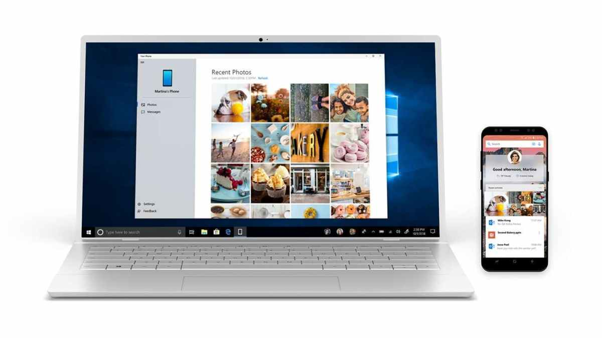 Insiders can Now Mirror their Android Phone Screen onto Windows 10