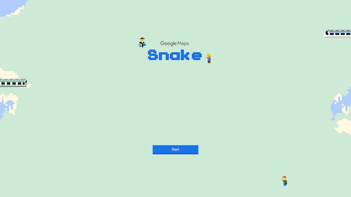 You can now Play 90s Snake Game on Google Maps