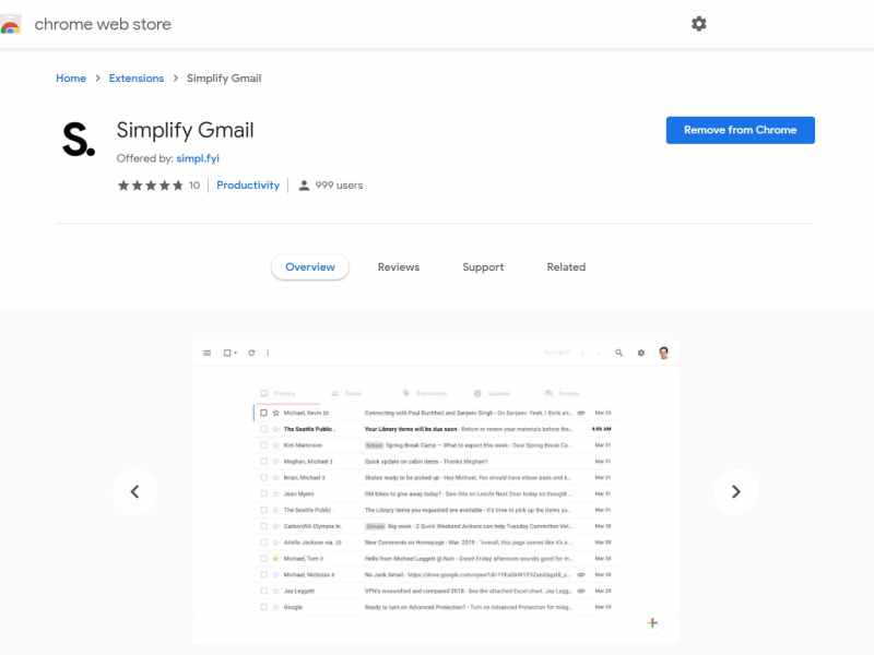 Inbox Co-Founder Releases a new Chrome extension to Simplify Gmail