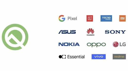 Current Devices and Manufacturer that are Supporting Android Q