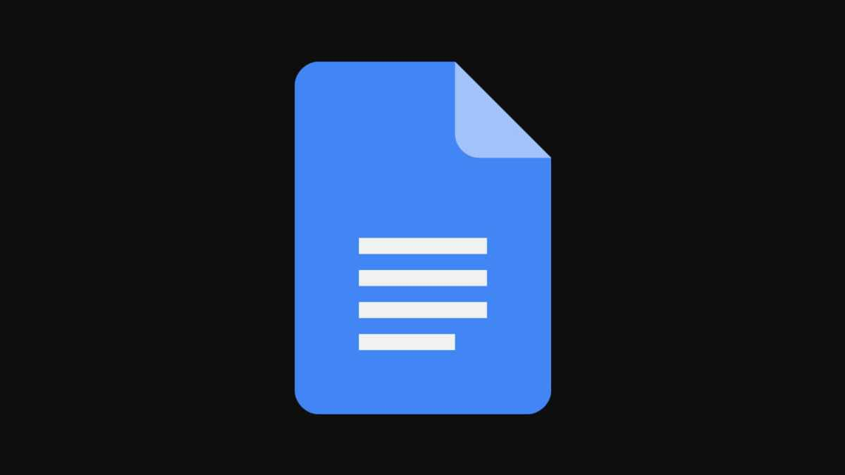 how to insert section breaks in google docs