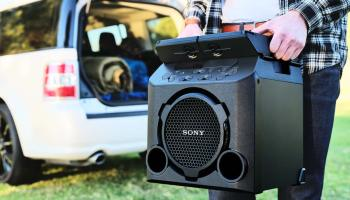 Sony Releases GTK-PG10 Outdoor Wireless Speaker