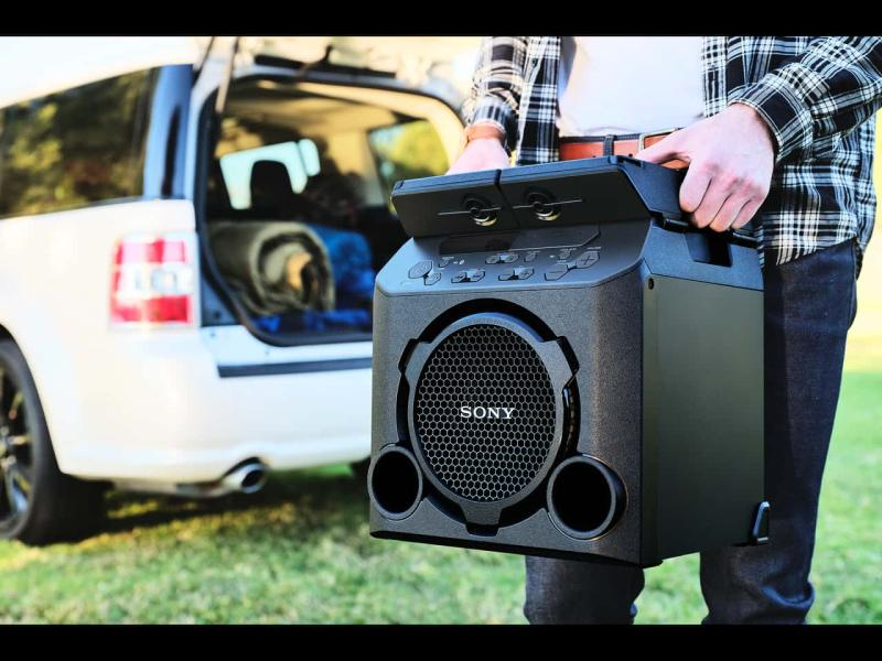 Sony Releases GTK-PG10 Outdoor Wireless Speaker