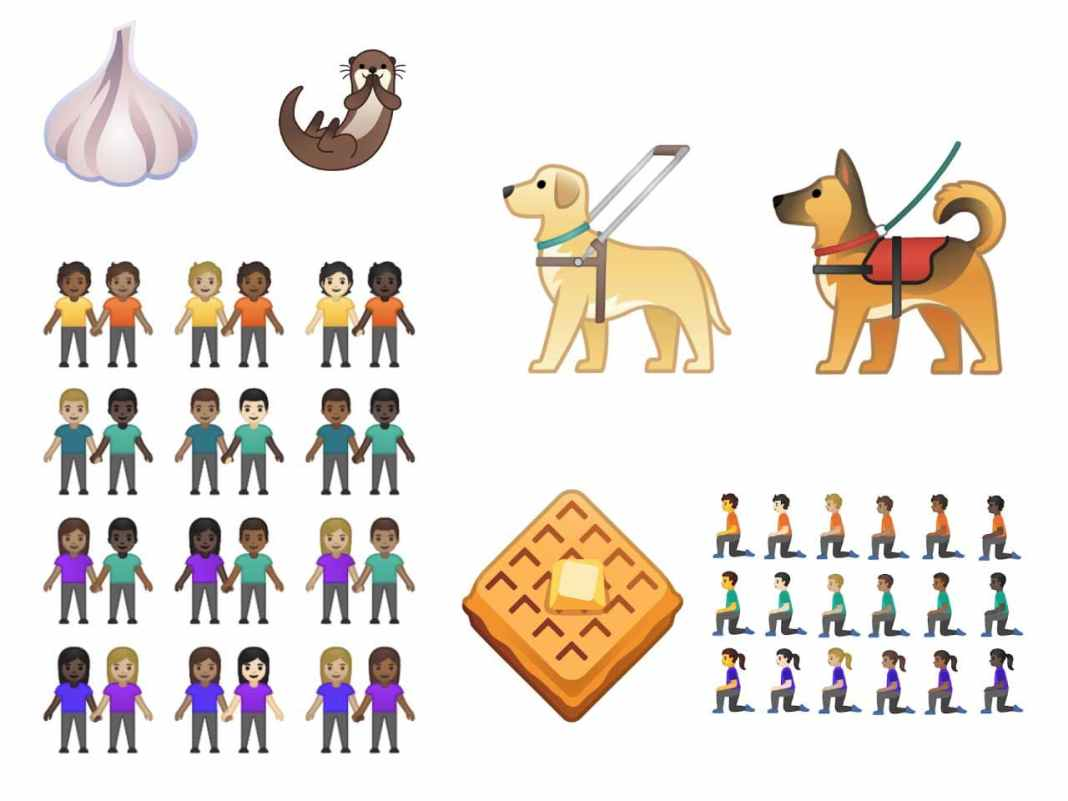 Google Announces 65 New Emojis