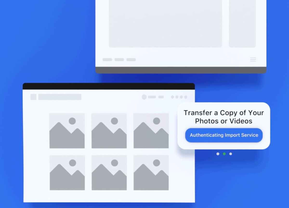 transfer facebook photos video to google photos