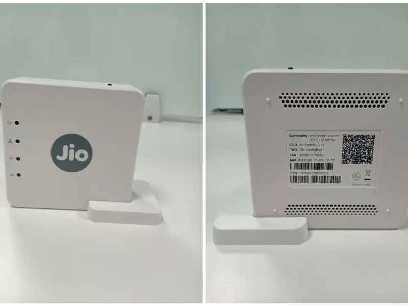 Jio WIFI Mesh Extender would cost you Rs 2499