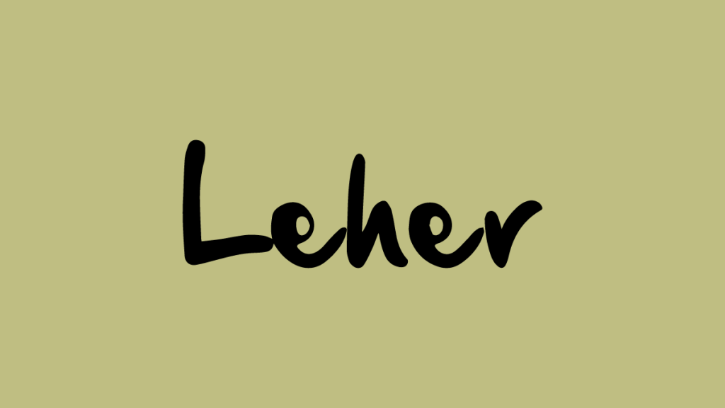 Leher App Indian Alternative Clubhouse