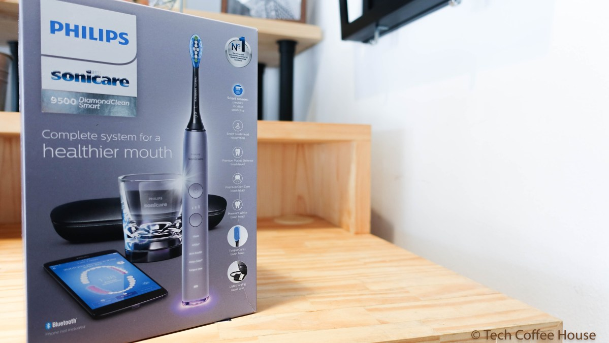 Updated: Review of the Philips Sonicare 9500 DiamondClean Smart Electric Toothbrush