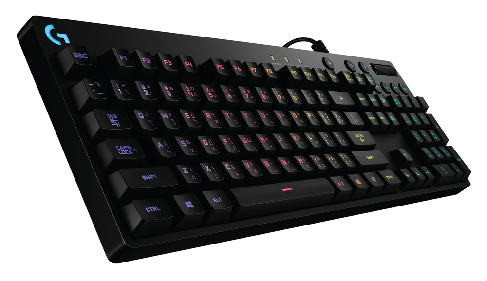 G810 Orion Spectrum RGB Mechanical Gaming Keyboard_Logitech's year-end promotion