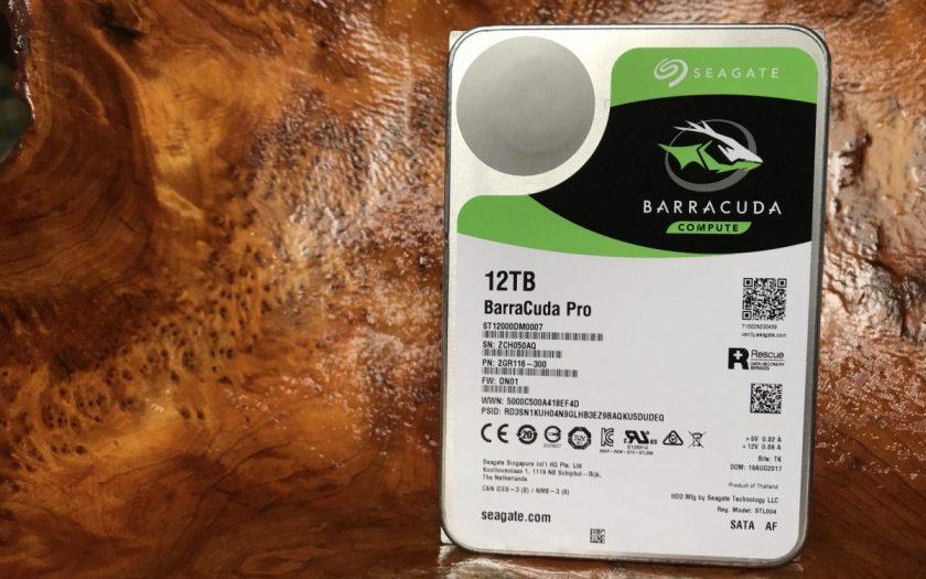 Seagate 12 TB BarraCuda Pro
