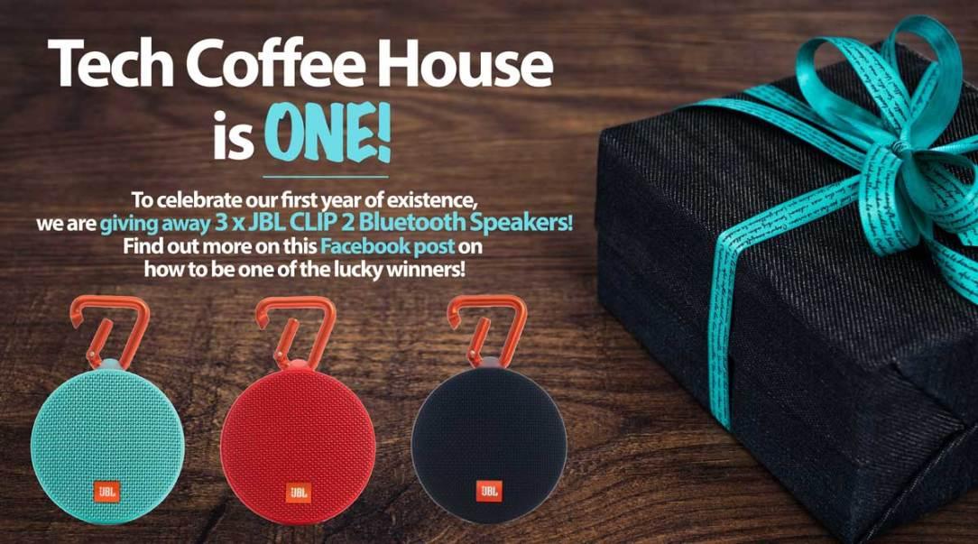 Tech Coffee House Is One!
