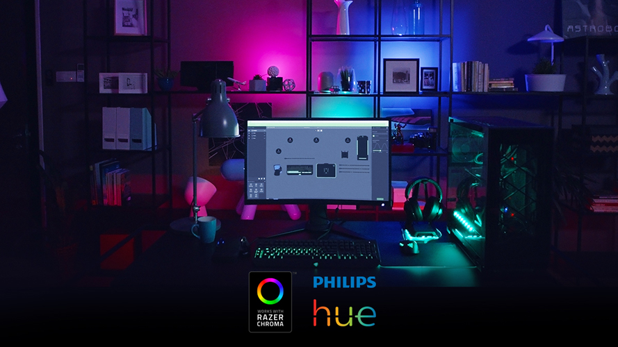 Philips Lighting partners Razer to enhance your gaming experience to another level