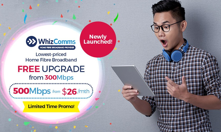 WhizComms promotions