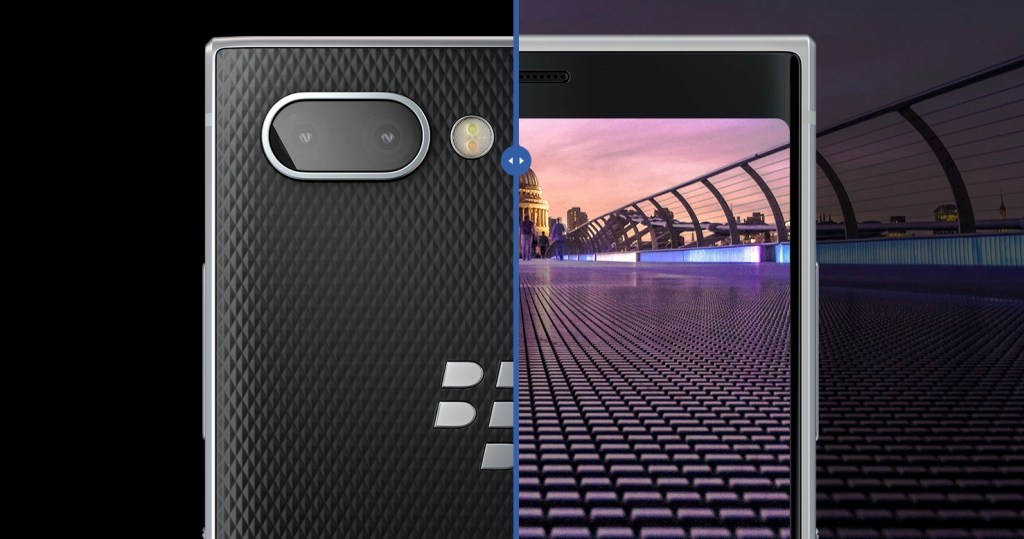 BlackBerry KEY2 Dual Rear Camera