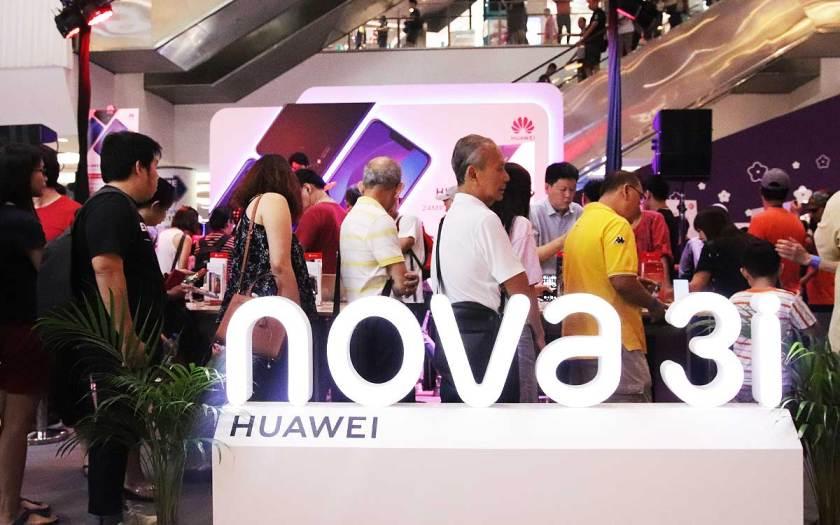 HUAWEI nova 3i launch